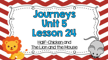 Journeys Unit 5 Lesson 24 Vocabulary Introduction Powerpoint