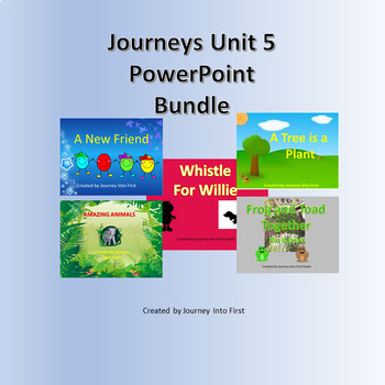 Journeys Unit 5 PowerPoint Bundle