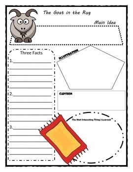 Journeys Unit 5 - Second Grade - Story Maps Graphic Organizer