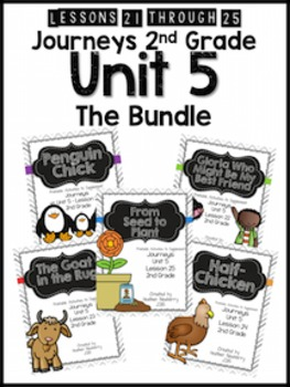 Journeys 2nd Grade Unit 5: The Bundle