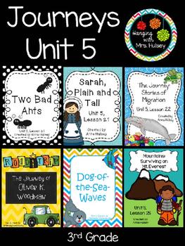 Journeys Unit 5 (Third Grade)