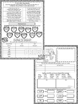 Journeys Unit 5 (Third Grade): Skill Practice Sheets