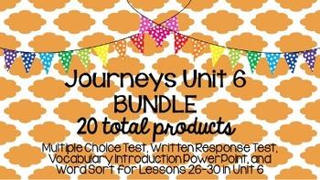 Journeys Unit 6 BUNDLE!