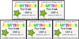 Journeys Unit 6 BUNDLE Power Points Lessons 26-30 First Grade