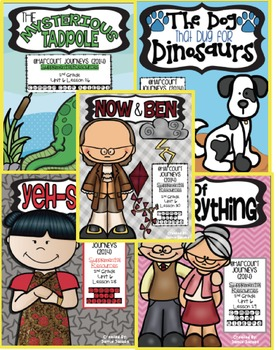 Journeys Unit 6 Bundle - Second Grade Supplemental Materials