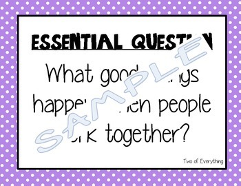 Journeys Unit 6 Essential Questions