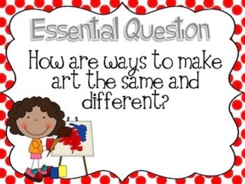 Journey's Unit 6 Essential Questions 1st Grade