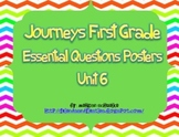 Journey's Unit 6 Essential Questions 1st Grade