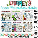 Journeys Unit 6 BUNDLE Focus Wall and Anchor Charts and Wo