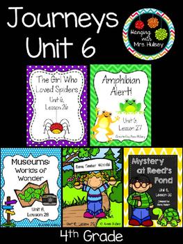 Journeys Unit 6 (Fourth Grade)