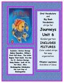 Journeys Unit 6 Kindergarten Oral and Big Book Vocabulary