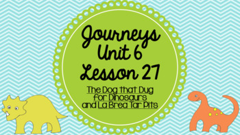 Journeys Unit 6 Lesson 27 Vocabulary Introduction PowerPoint