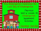 Miss Bindergarten Celebrates Journeys Unit 6 Lesson 30 Kindergarten