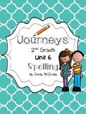 Journeys 2nd Grade Spelling Unit 6