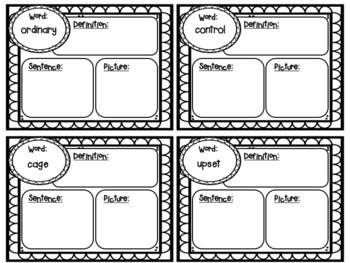 Journeys Unit 6 Spelling and Vocabulary Activity Pack