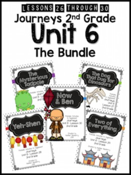 Journeys 2nd Grade Unit 6: The Bundle