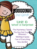 Journeys Unit 6 What a Surprise! Grade 2 {Editable}