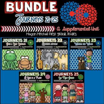 Journeys Unit Five Bundle-21-25
