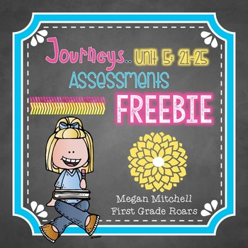Journeys Unit Five Word Assessments