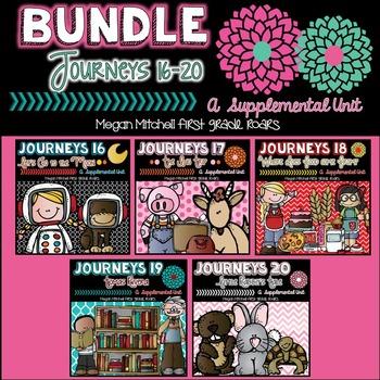 Journeys Unit Four Bundle 16-20