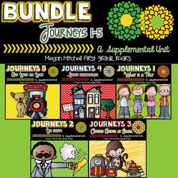Journeys: Unit One Bundle 1-5