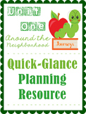 Journeys Unit One Quick Guide Planning Resources