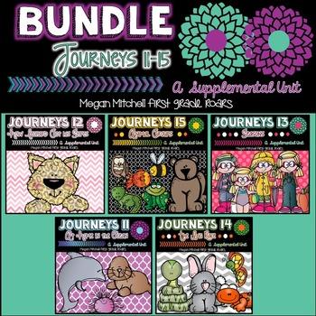 Journeys Unit Three Bundle  11-15