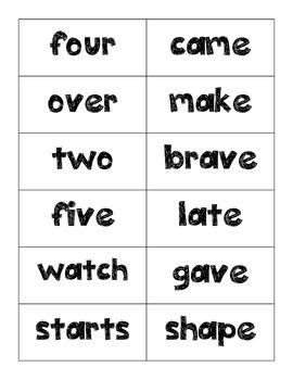 Journeys Unit Three Word Assessments