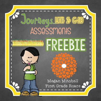 Journeys Unit Two Word Assessments