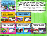 2nd grade Journeys Units 1-6 Questions and Homework for th