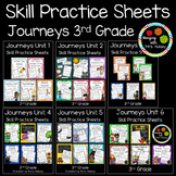 Journeys Units 1-6 (Third Grade): Skill Practice Sheets