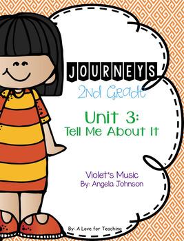 Journeys Violet's Music Grade 2 {Editable}