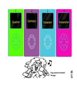 Journey's Violet's Music flipchart