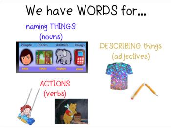 Journeys Vocab for Kindergarten Unit 1 Lessons 1-5