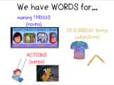 Journeys Vocab for Kindergarten Unit 1 Lessons 1-5