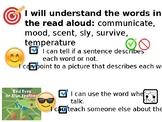 Journeys Vocab for Kindergarten Unit 5 (Lesson 24)