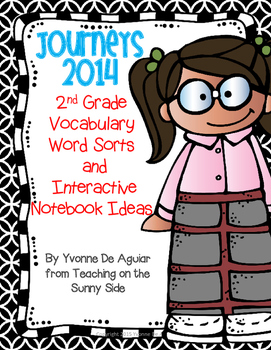 Journeys Vocabulary 2014 2nd Grade Word Sorts and Interact