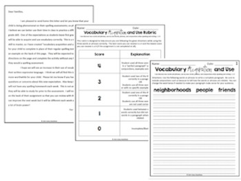 Journeys Vocabulary Acquisition and Use (Unit 1-6 Bundle)