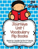 Journeys Vocabulary Flip Book: Unit 1 2nd Grade