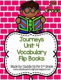 Journeys Vocabulary Flip Book: Unit 4 2nd Grade