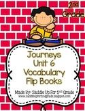 Journeys Vocabulary Flip Book: Unit 6 2nd Grade