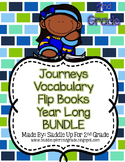 Journeys Vocabulary Flip Book Year Long BUNDLE: Units 1-6