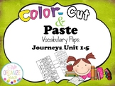 Journeys Vocabulary Interactive Notebook