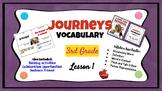 Journeys Vocabulary PowerPoint Lesson 1 A Fine, Fine Schoo