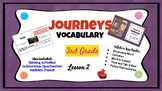 Journeys Vocabulary PowerPoint Lesson 2 The Trial of Cardi