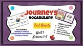 Journeys Vocabulary PowerPoint Unit 1  2nd Grade