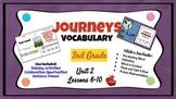 Journeys Vocabulary PowerPoint Unit 2  3rd Grade