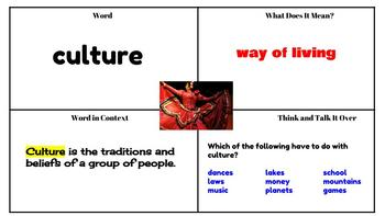Journeys Vocabulary PowerPoint Unit 3  2nd Grade