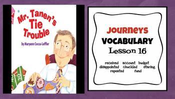 Journeys Vocabulary PowerPoint Unit 4  2nd Grade