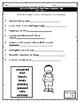 Journeys Vocabulary Tests 2nd Grade Unit 5